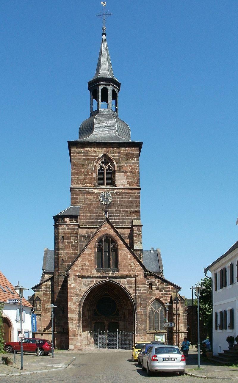 Bild Stiftskirche St. Arnual Saarbrücken