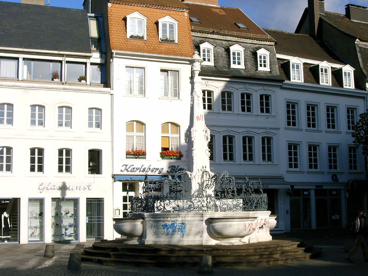 Bild Brunnen St. Johanner Markt Saarbrücken
