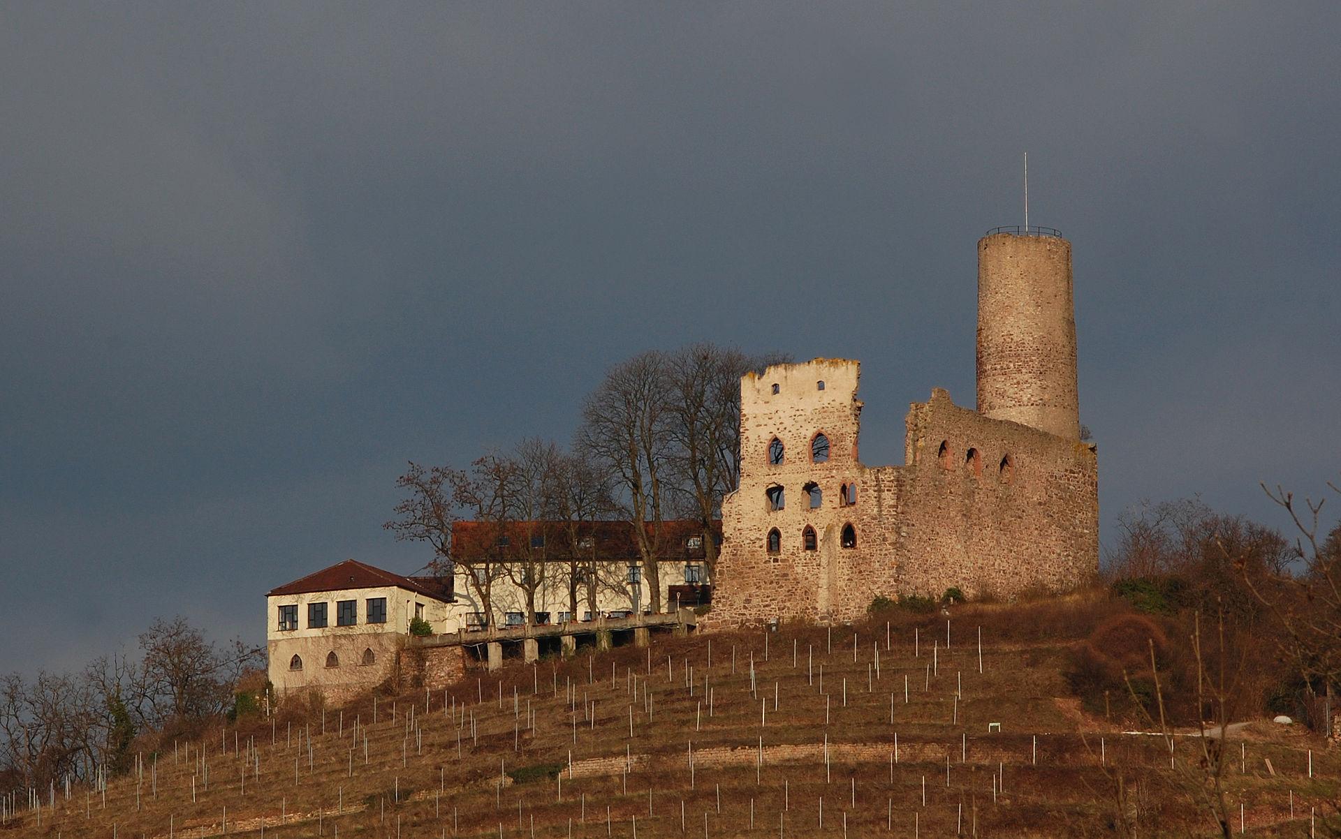 Bild Strahlenburg Schriesheim