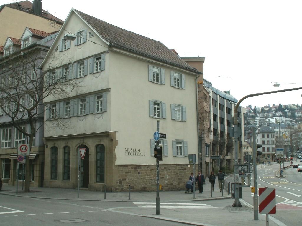Bild Hegel Haus Stuttgart