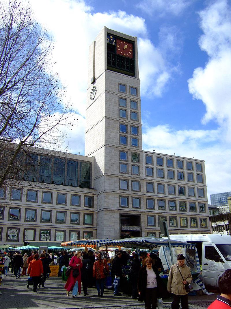 Bild Rathaus Stuttgart
