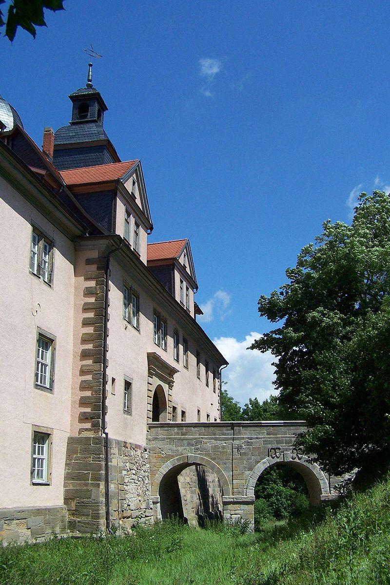 Bild Schloss Tenneberg Waltershausen