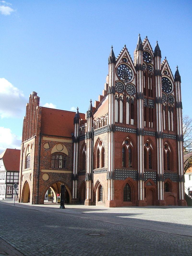 Bild Rathaus Tangermünde