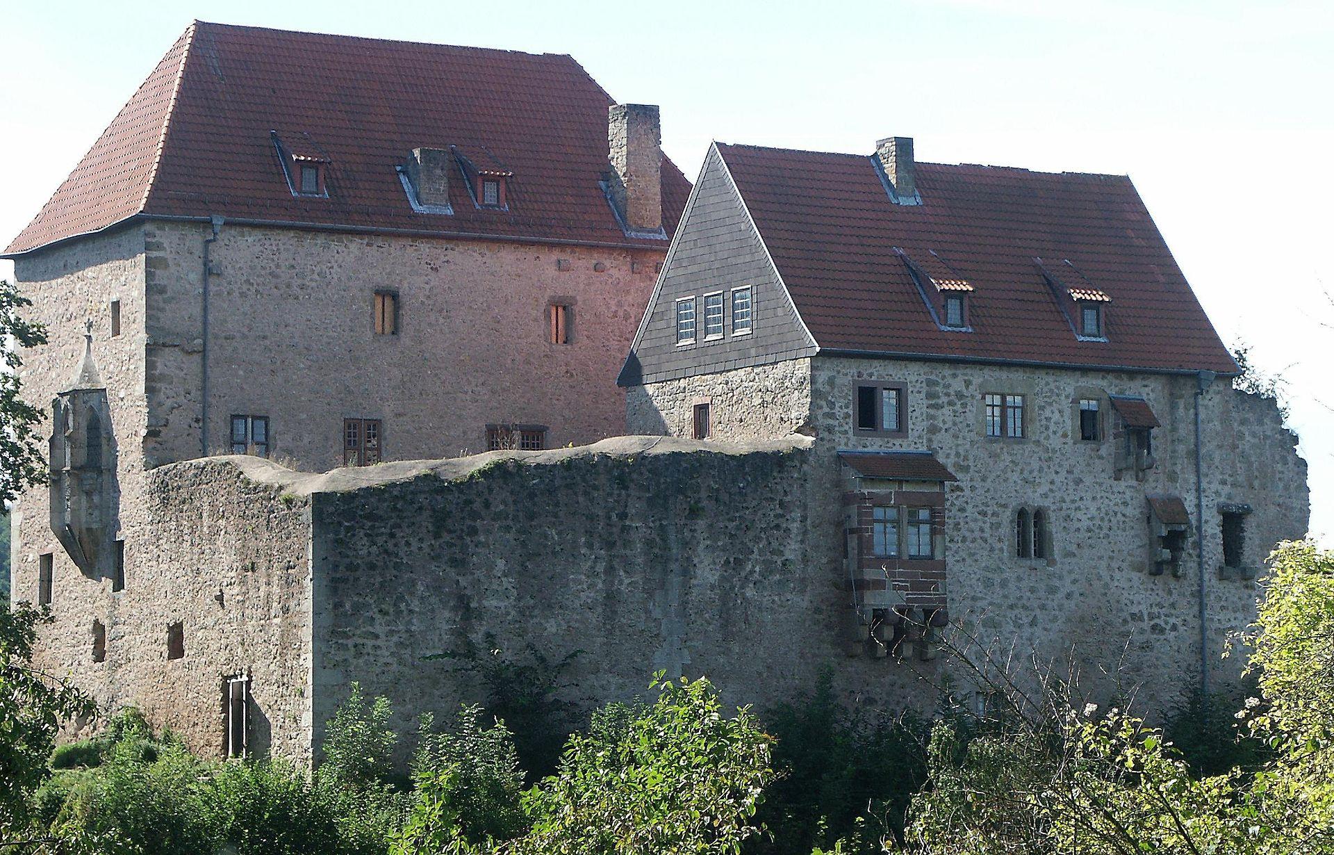 Bild Burg Tannenburg Nentershausen