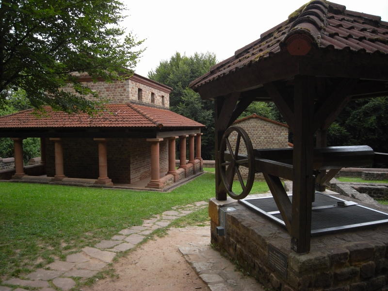 Bild Tempelanlage Tawern