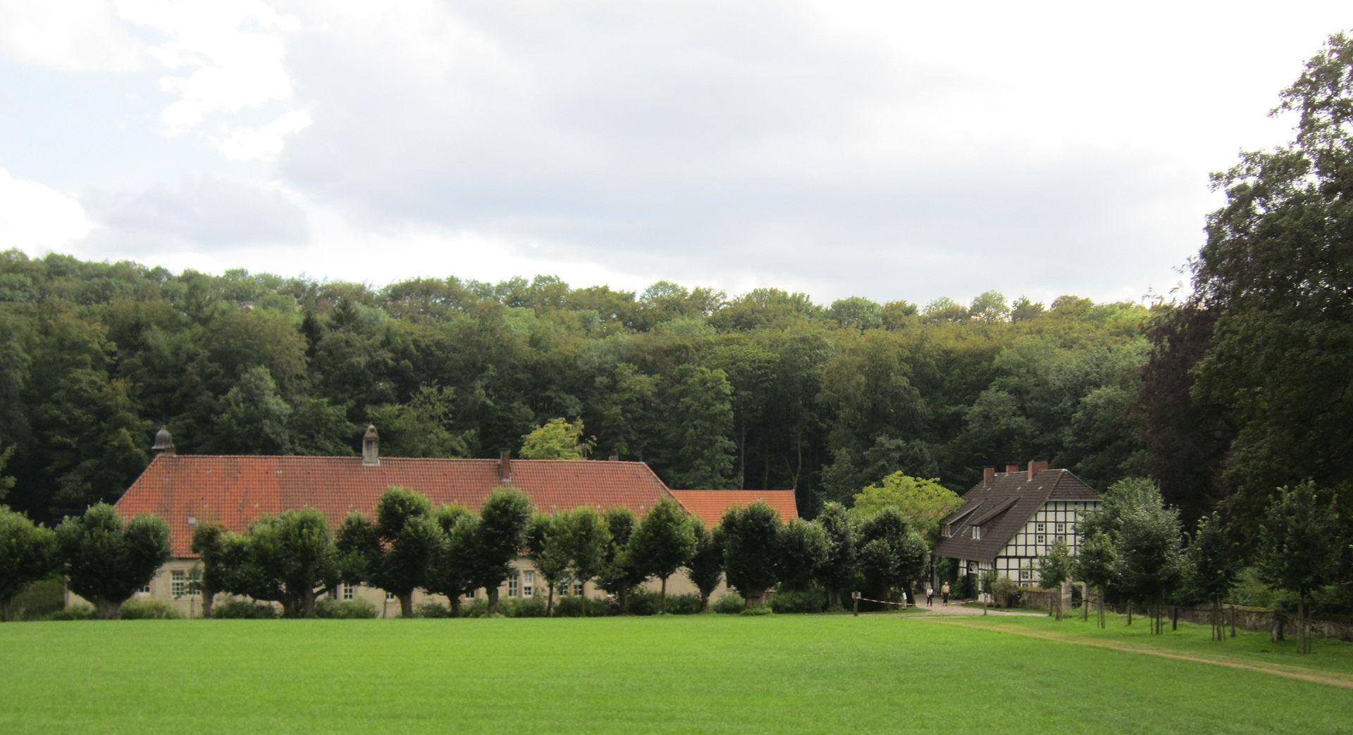 Bild Wasserschloss Haus Marck Tecklenburg