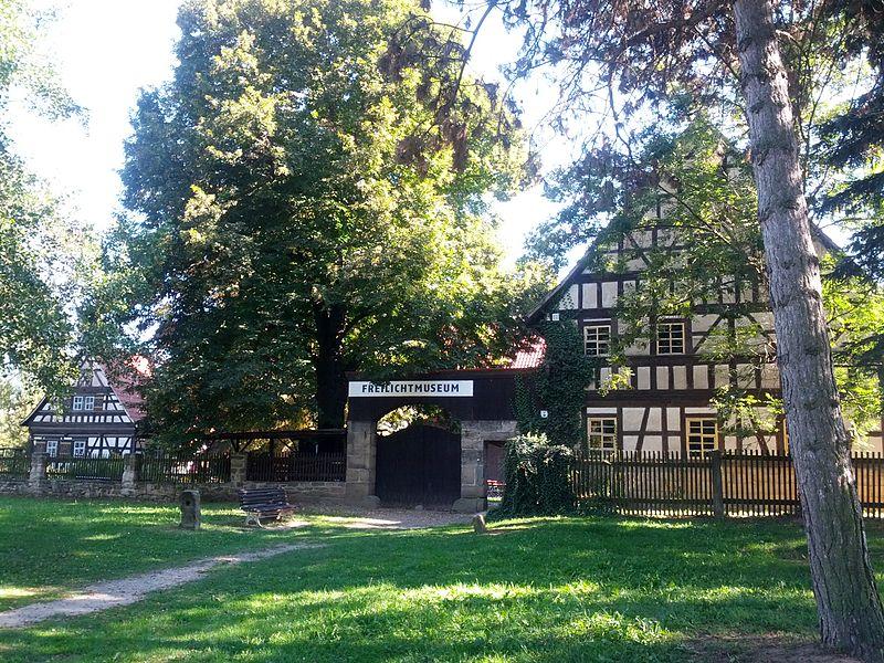 Bild Thüringer Bauernhäuser Rudolstadt