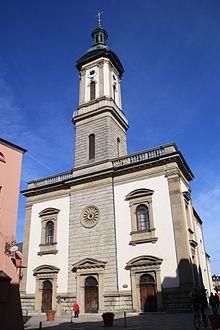 Bild Stadtpfarrkirche St. Oswald Traunstein