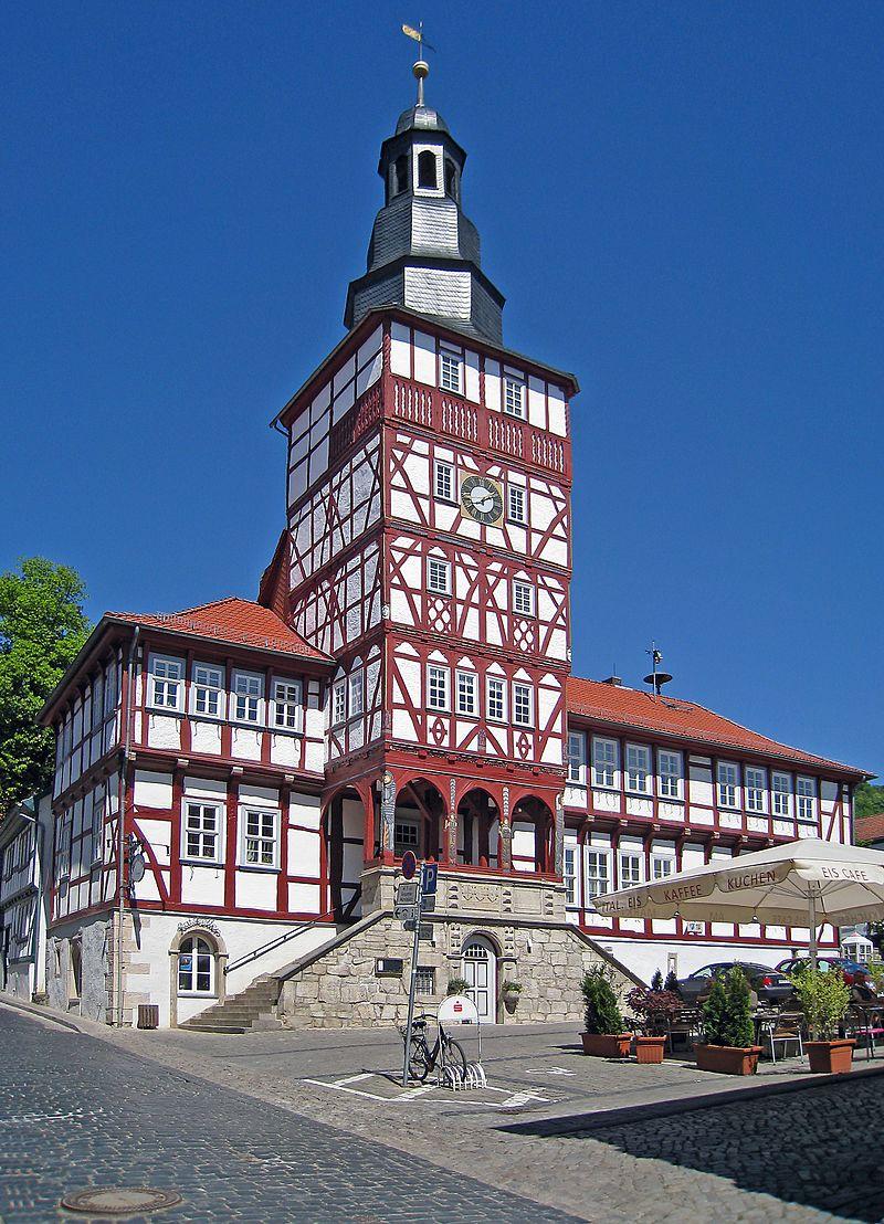 Bild Rathaus Treffurt