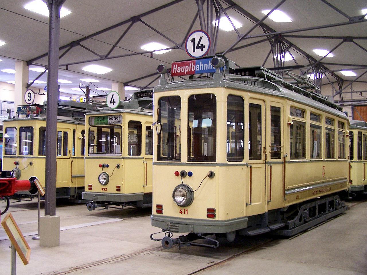 Bild Verkehrsmuseum Frankfurt am Main