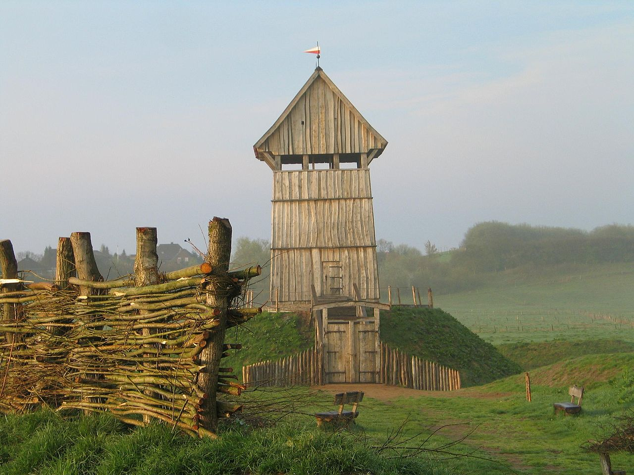 Bild Turmhügelburg Lütjenburg