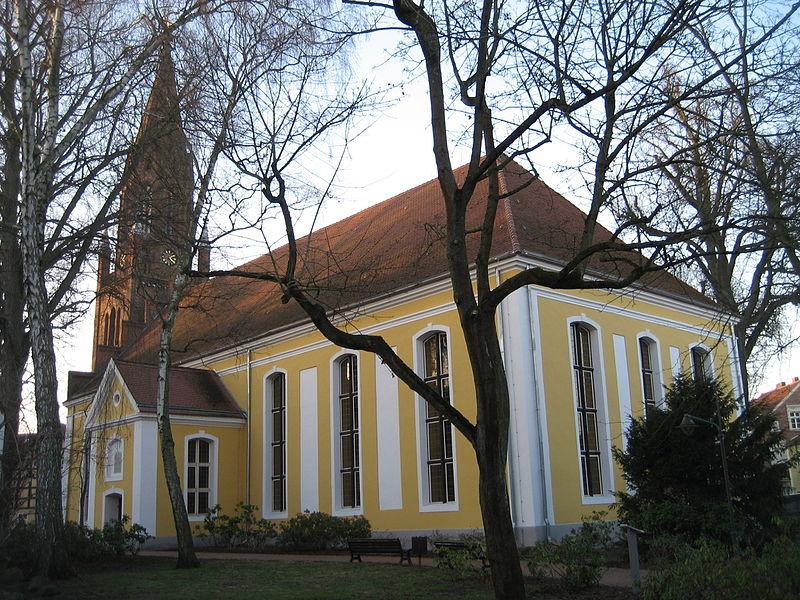 Bild St. Marien Kirche Ueckermünde