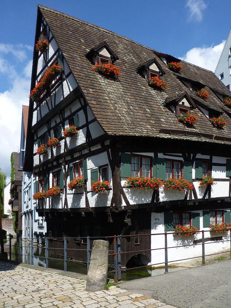 Bild Schiefes Haus Ulm