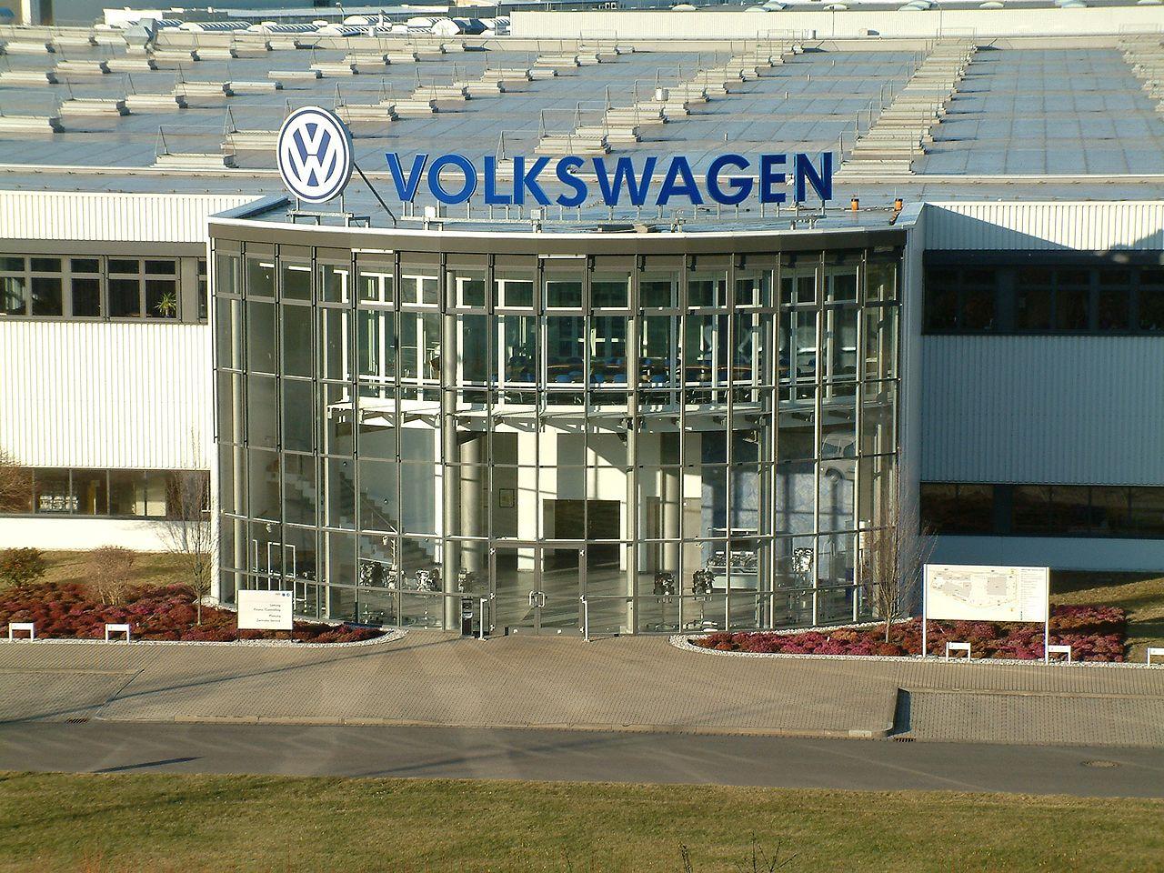 Bild VW Motorenwerk Chemnitz