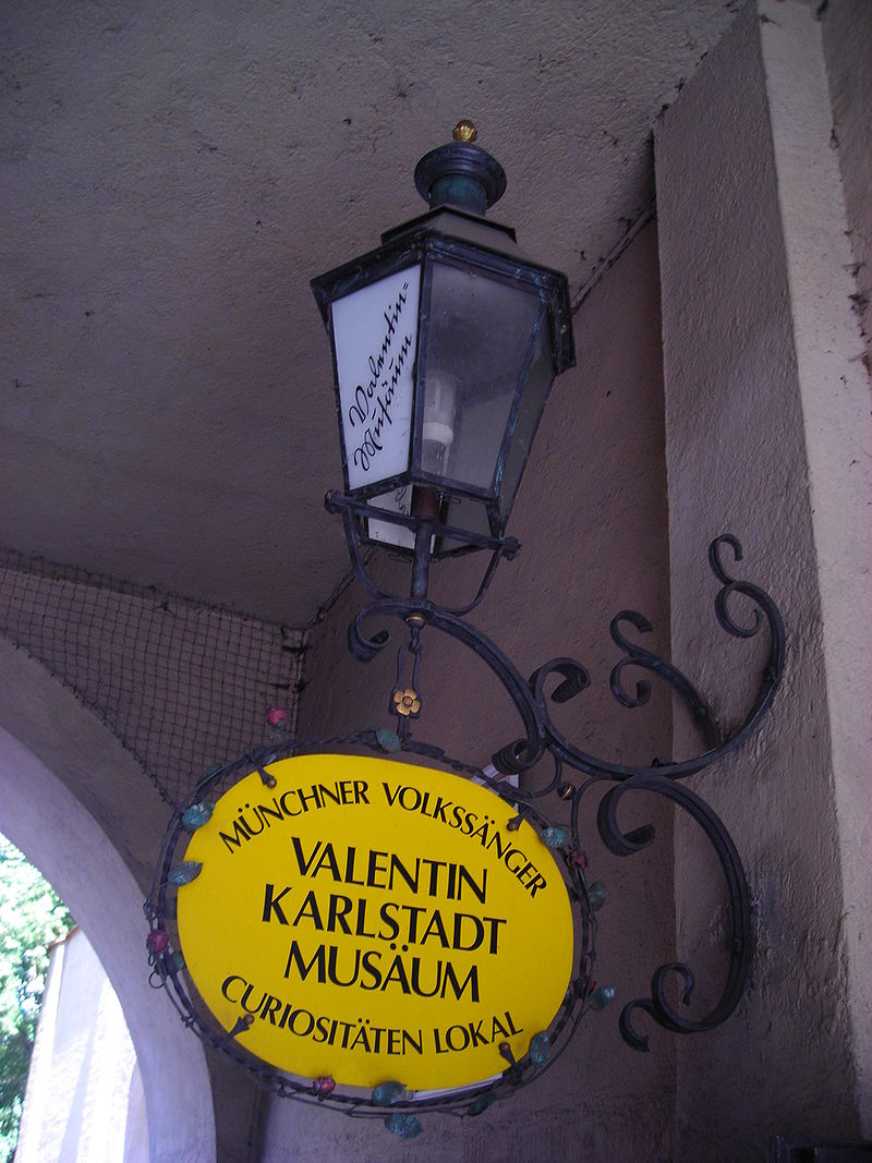 Bild Valentin Karlstadt Musäum München