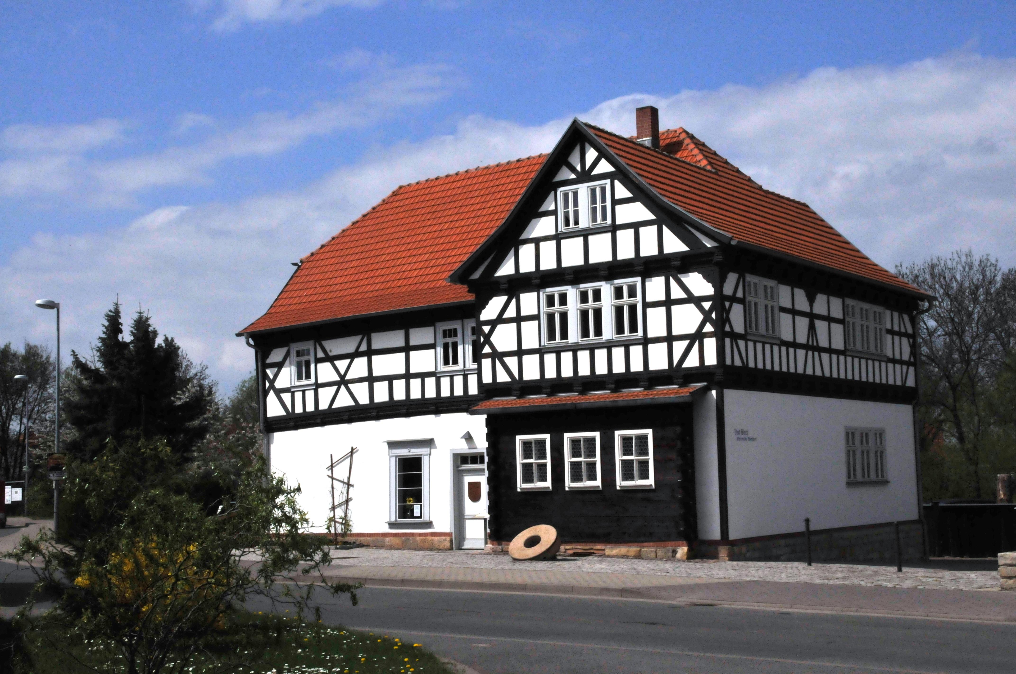 Bild Bach Stammhaus Wechmar