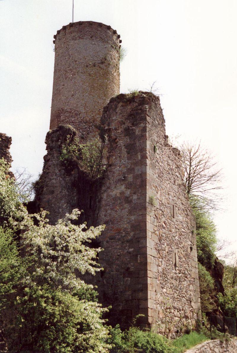 Bild Burg Veldenz Nohfelden