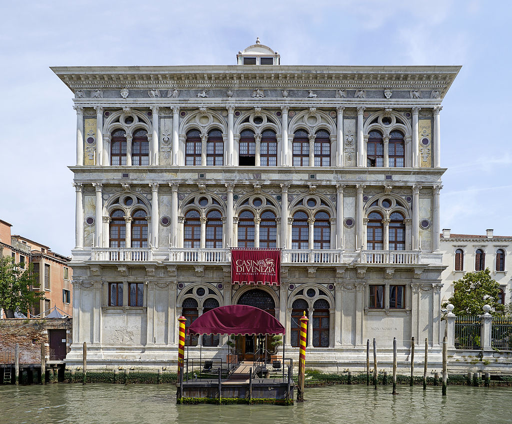 Bild Palazzo Vendramin Calergi Venedig