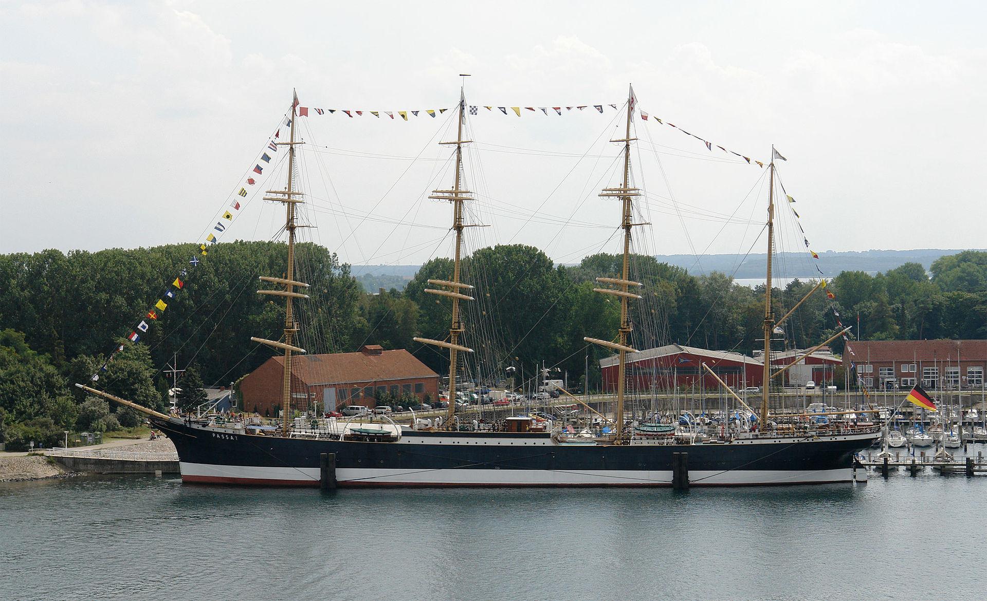 Bild Segelschiff Passat Travemünde