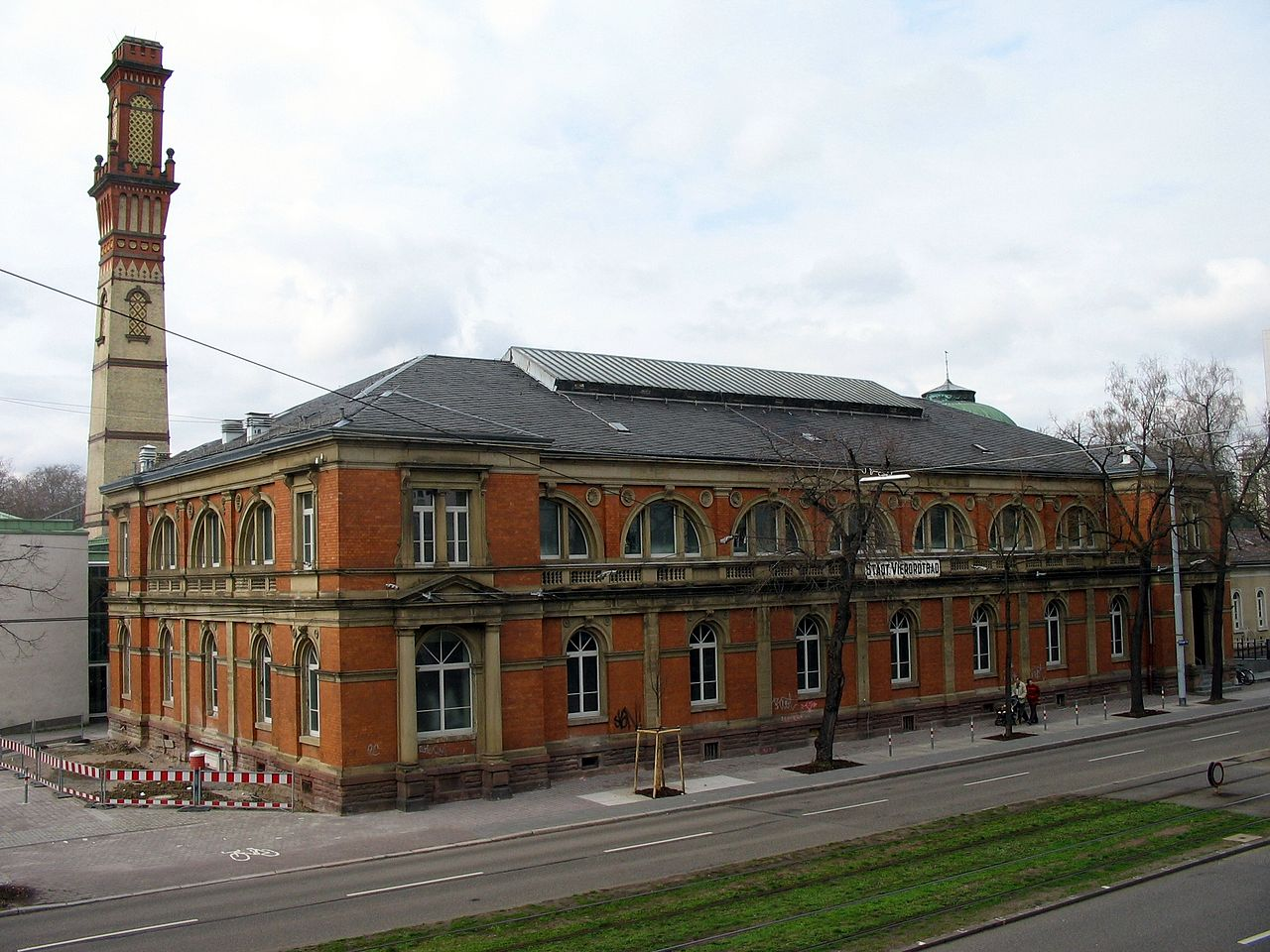Bild Vierordtbad Karlsruhe