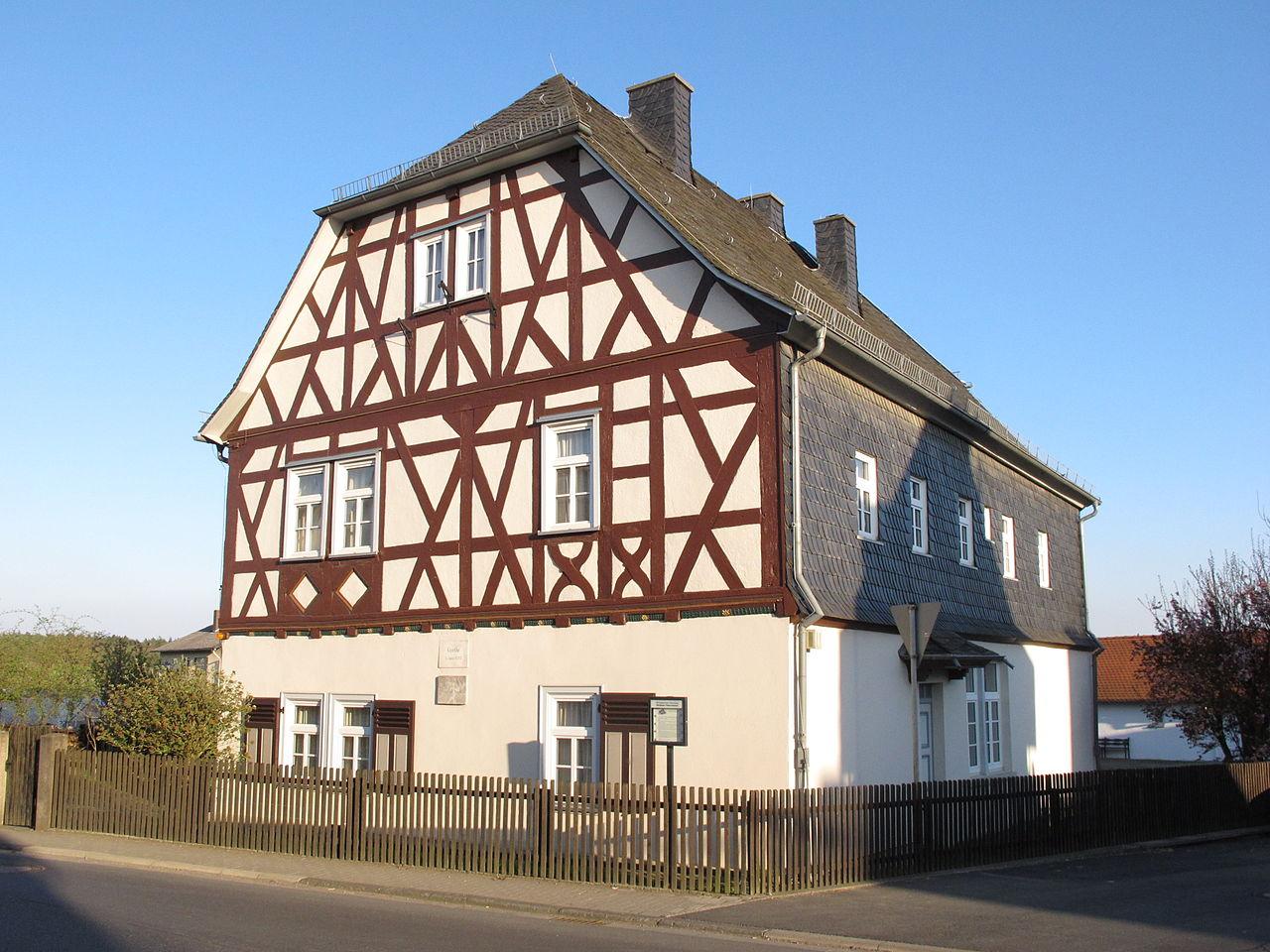 Bild Goethehaus Volpertshausen