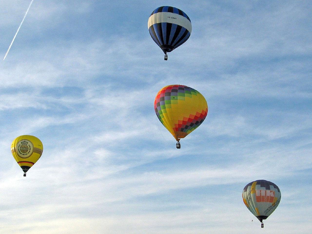 Bild Ballonfahrt über Kiel