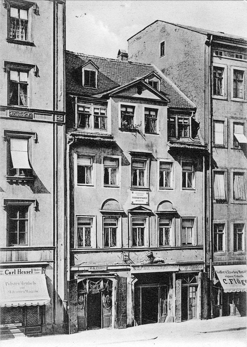 Bild Richard Wagner Geburtshaus Leipzig