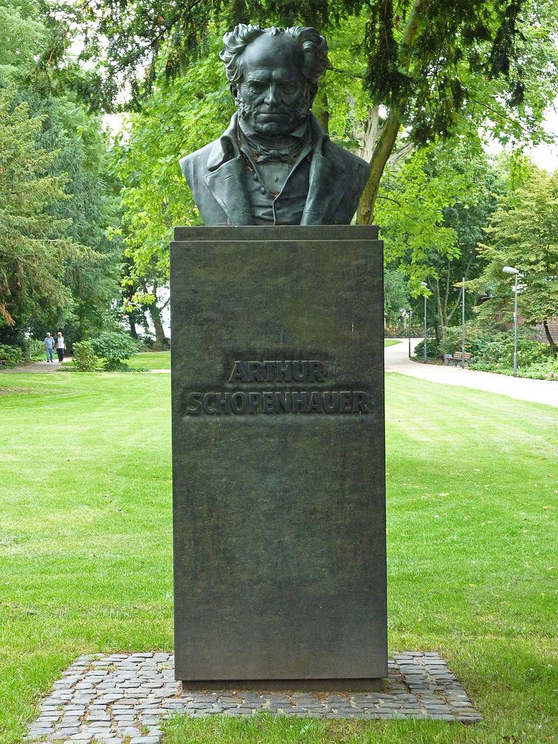 Bild Schopenhauer Denkmal Frankfurt am Main