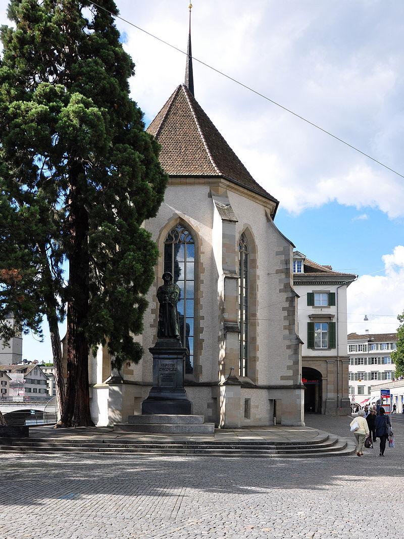 Bild Wasserkirche Zürich