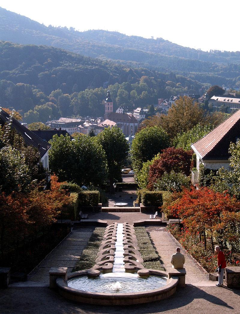 Bild Wasserkunst Paradies Baden Baden