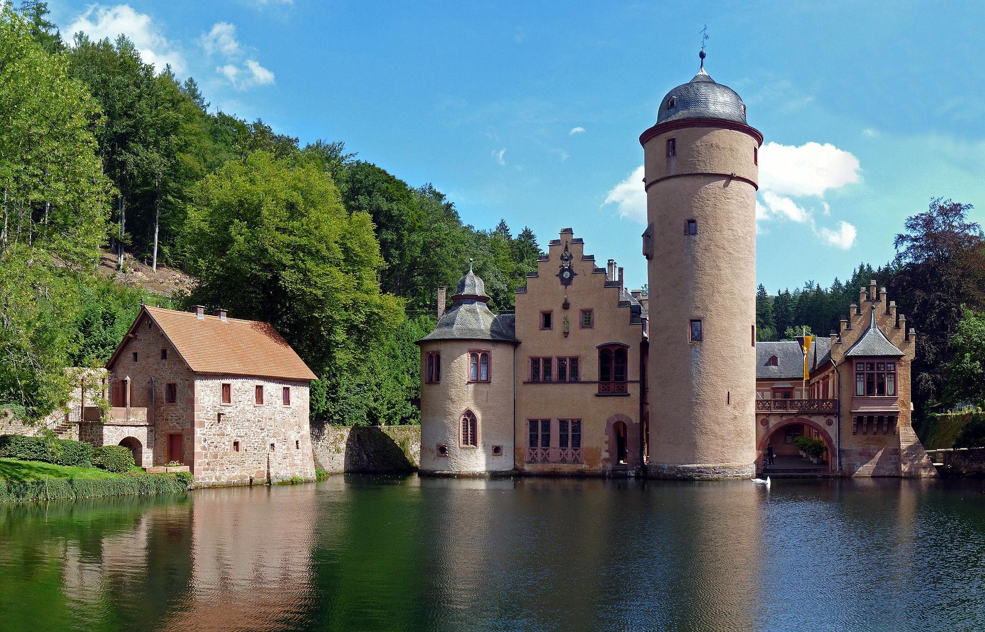 Bild Schloss Mespelbrunn