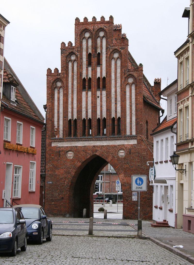 Bild Wassertor Wismar