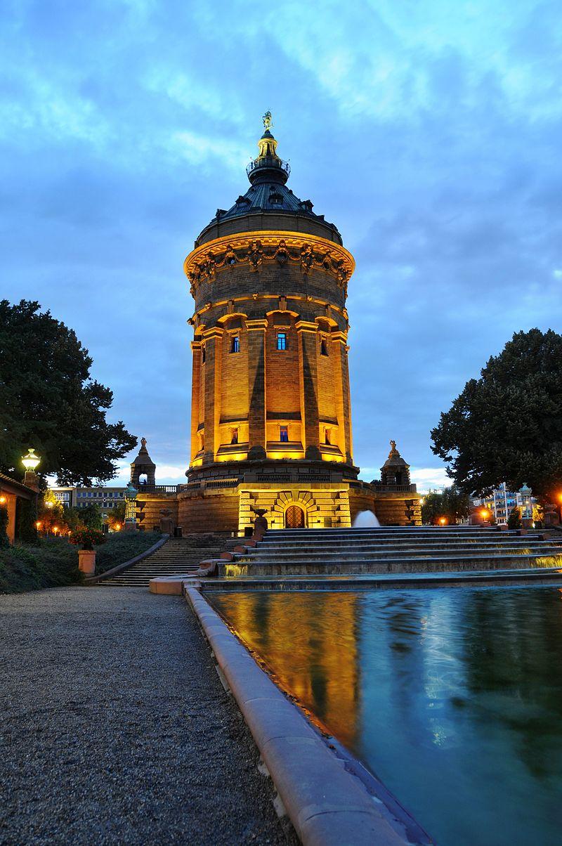 Bild Wasserturm Mannheim