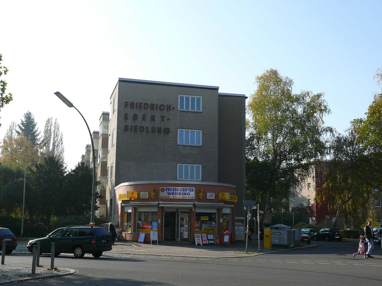 Bild Friedrich Ebert Siedlung Berlin