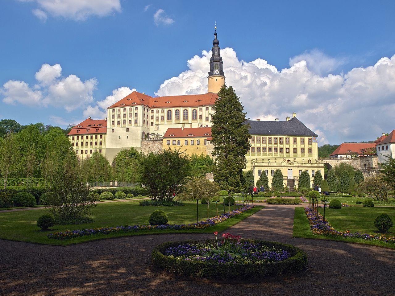 Bild Schloss Weesenstein Müglitztal