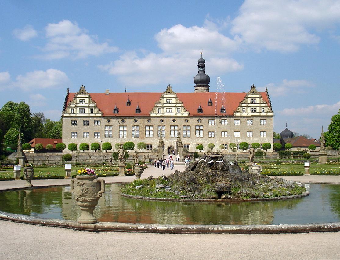 Bild Schloss Weikersheim