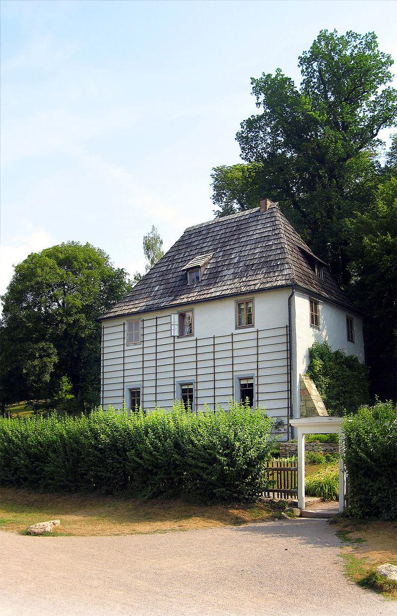 Bild Goethes Gartenhaus Weimar