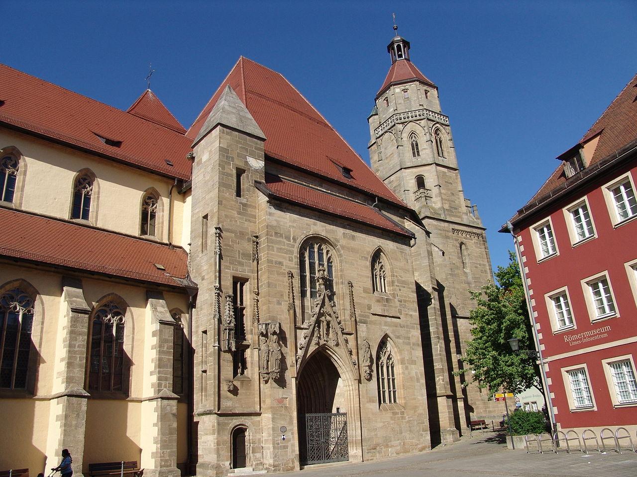Bild St. Andreas Kirche Weißenburg