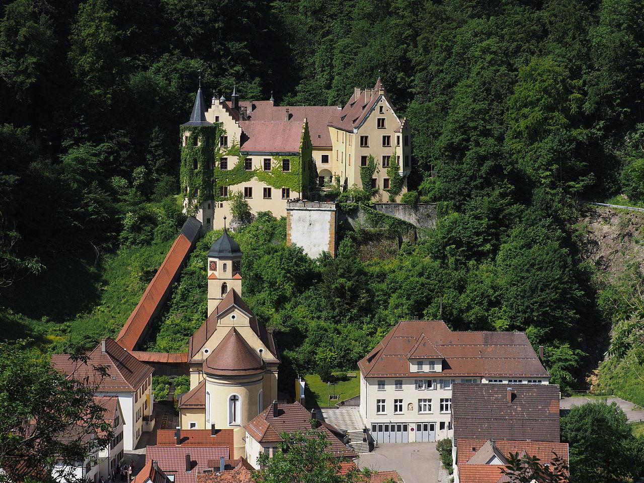 Bild Schloss Weißenstein Lauterstein