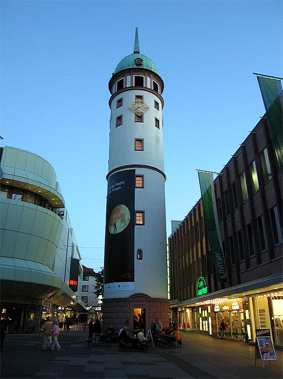 Bild Weißer Turm Darmstadt