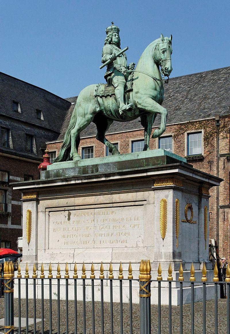Bild Jan Wellem Reiterdenkmal Düsseldorf