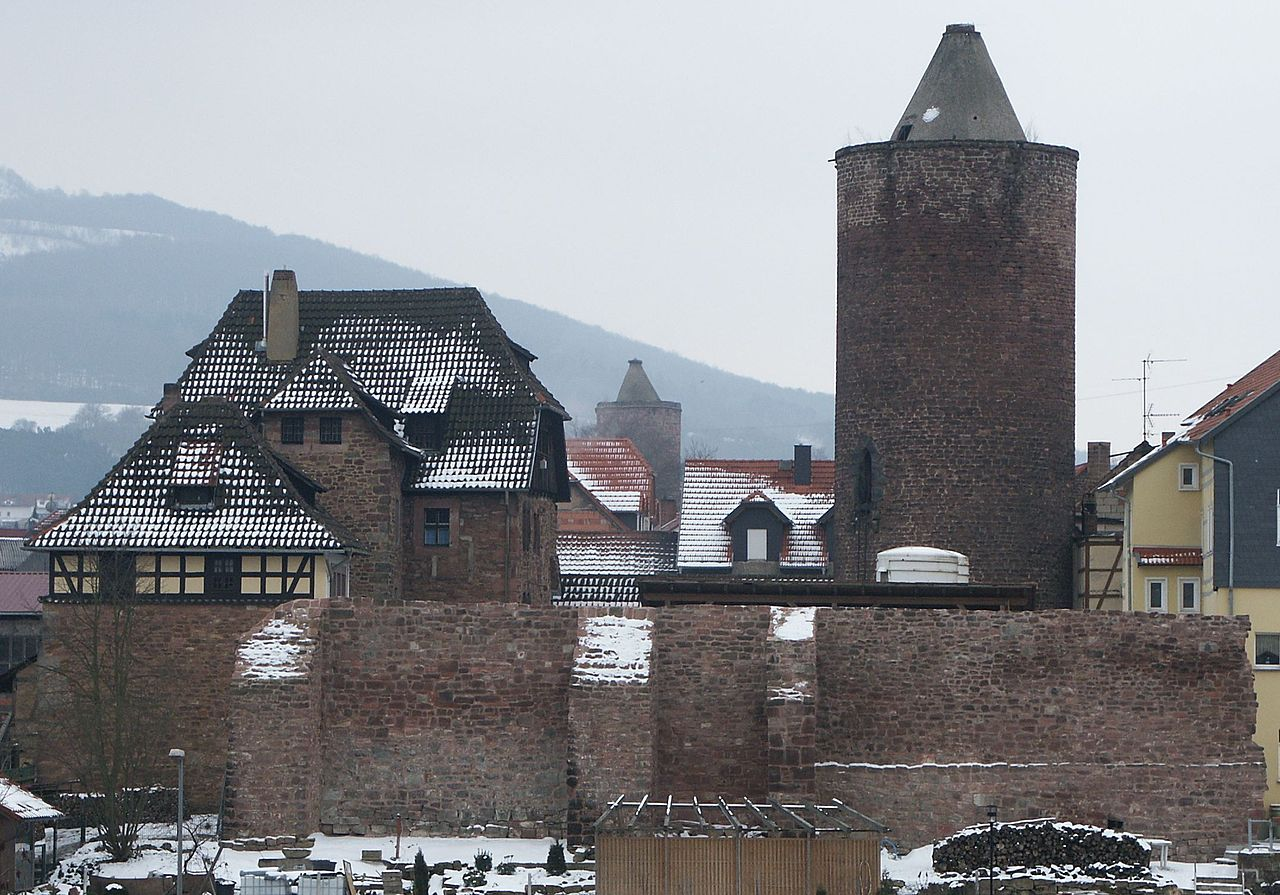 Bild Burg Wendelstein Vacha