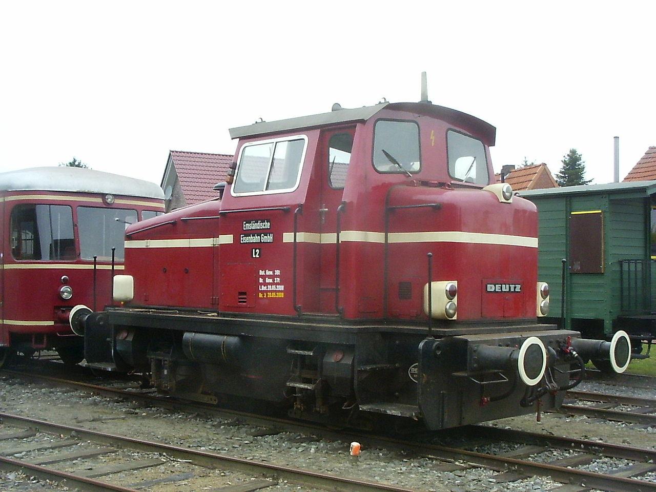 Bild Museumseisenbahn Ammerland Saterland