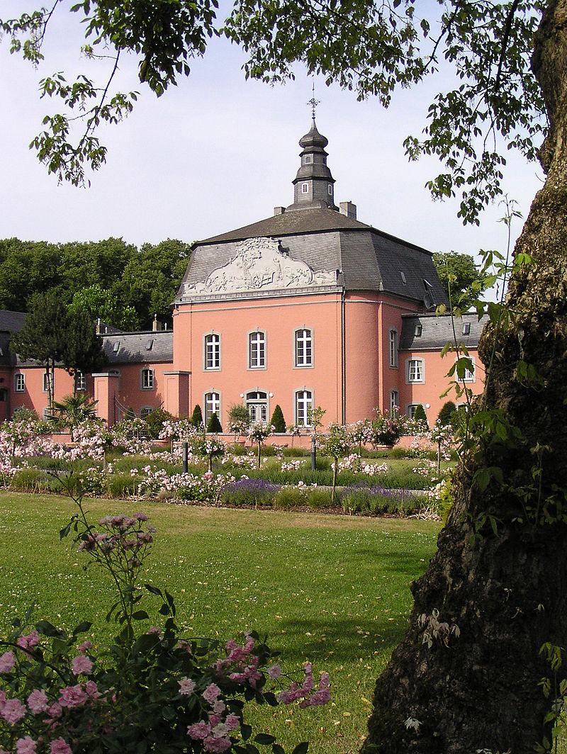 Bild Schloss Wickrath Mönchengladbach