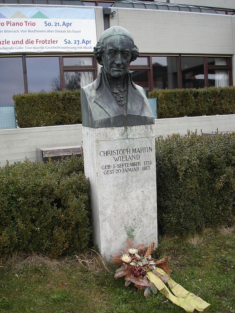 Bild Wieland Denkmal Biberach an der Riß