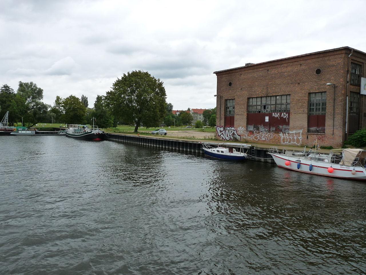 Bild Historischer Hafen Brandenburg Havel