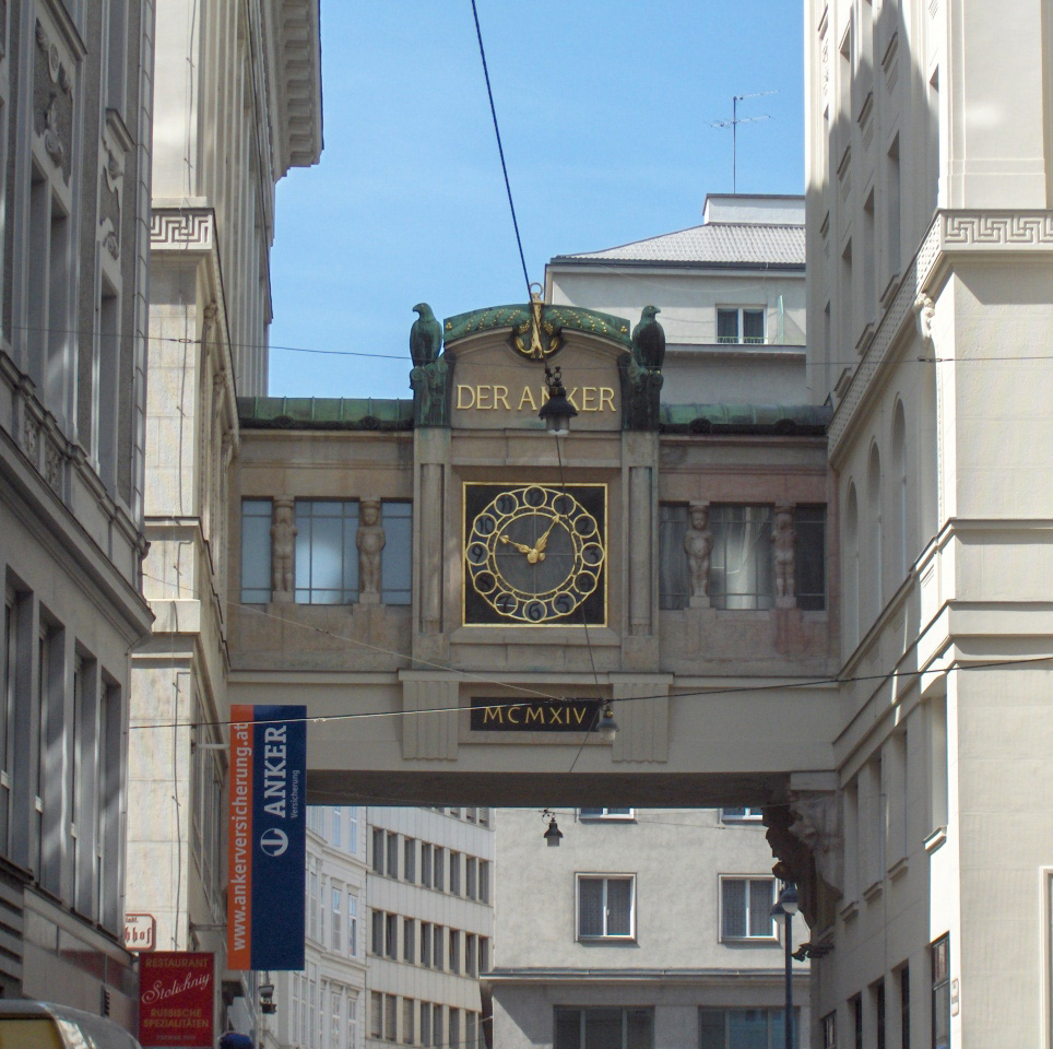 Bild Ankeruhr Wien