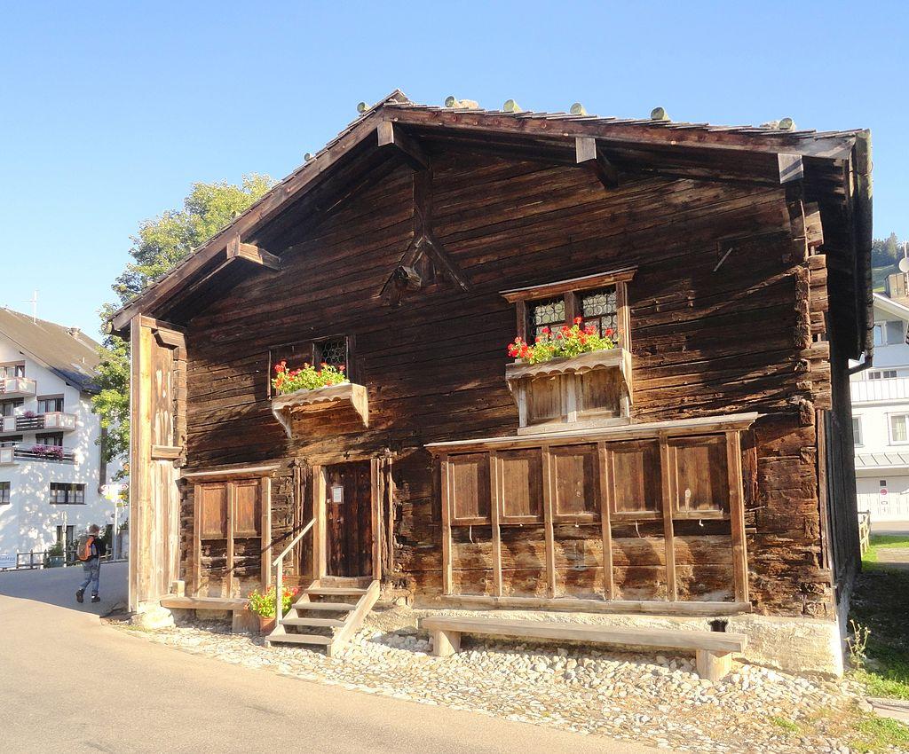 Bild Zwingli Geburtshaus Wildhaus