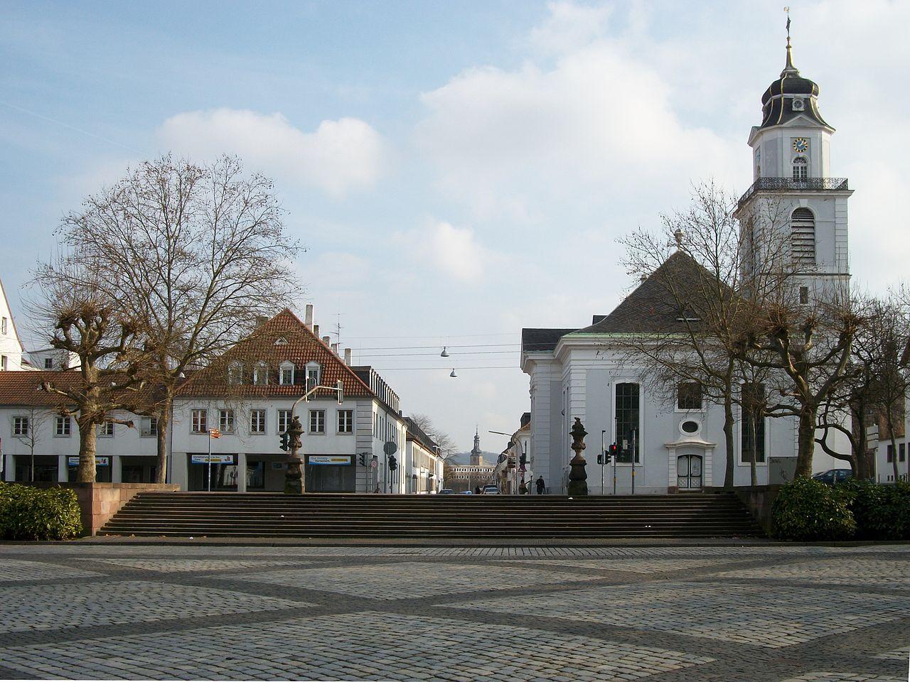 Bild Friedenskirche Saarbrücken