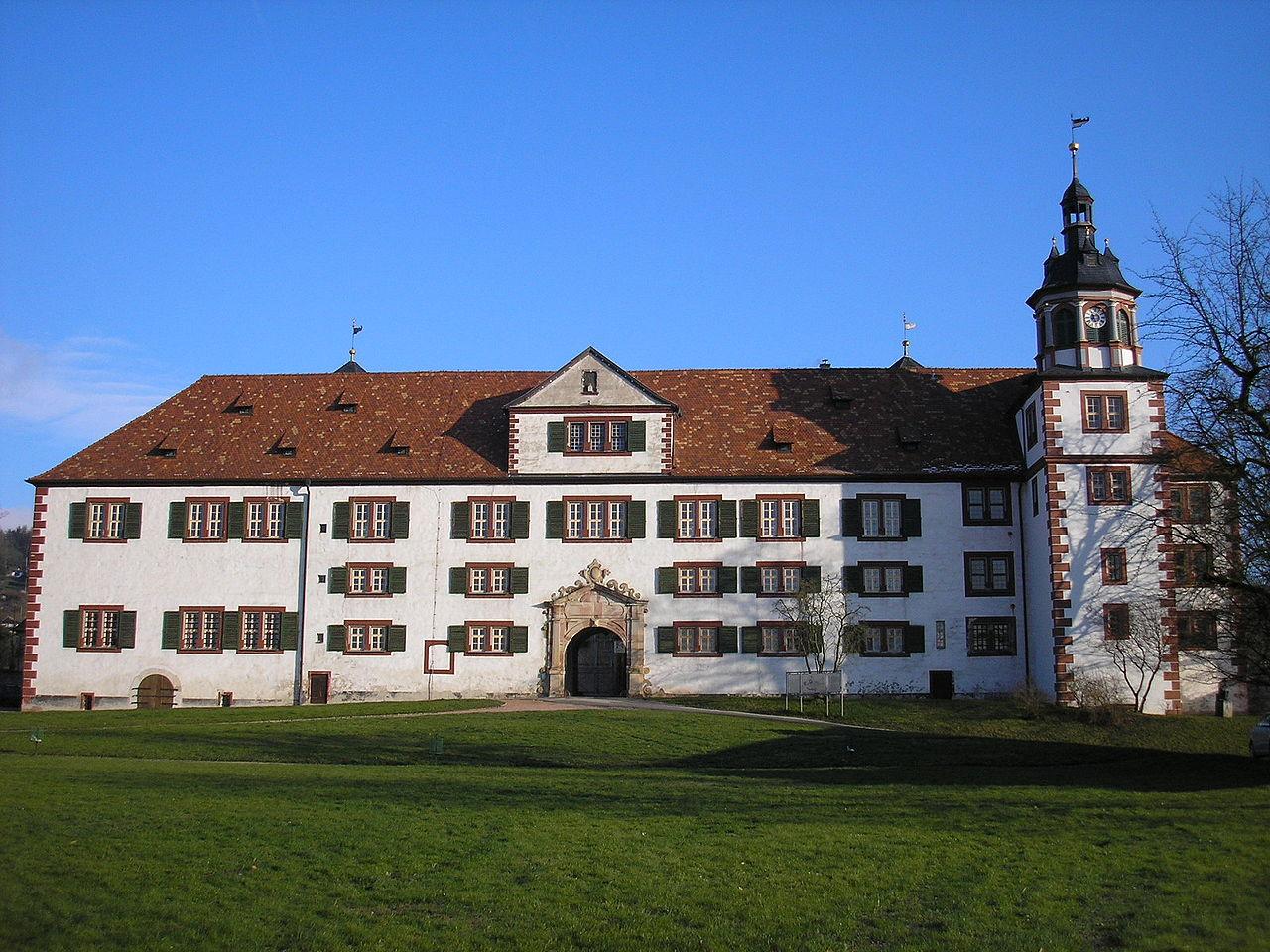 Bild Schloss Wilhelmsburg Schmalkalden